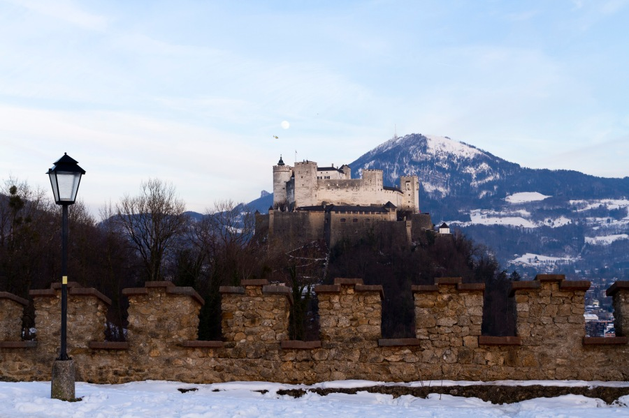 A Winter Wonderland inSalzburg